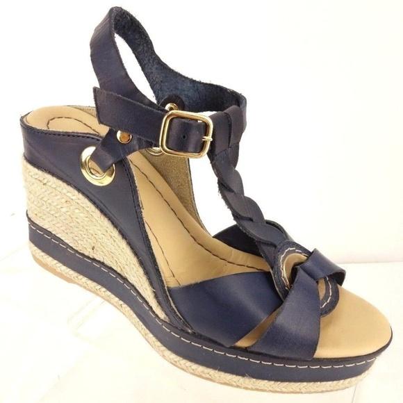 954c8bb341a ANDRE ASSOUS Espadrille Platform Wedge Sandals